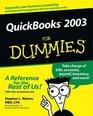Quickbooks 2003 for Dummies
