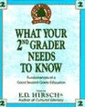 What Your 2nd Grader Needs to Know
