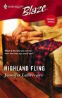 Highland Fling (Perfect Timing) (Harlequin Blaze, No 262)