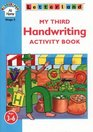 My Third Handwriting Activity Book Includes Wipe-clean Activity Card