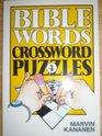 Bible Words Crossword Puzzles 4