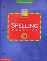 Integrated Language Arts: Spelling Practice: Grade 3