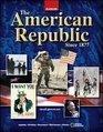 The American Republic to 1877   Teacher Wraparound Edition