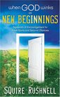 When God Winks on New Beginnings Signposts of Encouragement for Fresh Starts and Second Chances