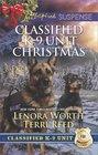 Classified K-9 Unit Christmas: A Killer Christmas / Yuletide Stalking (Classified K-9 Unit, Bk 7) (Love Inspired Suspense, No 645)