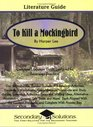 Literature Guide To Kill a Mockingbird