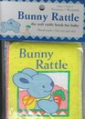 Bunny Rattle: The Soft Rattle Book for Baby (Learning Ladders-Blue Ladder for Babies)