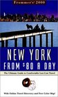 Frommer's 2000 New York City from 80 a Day