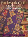 Patchwork Quilts Made Easy 33 Quilt Favorites Old  New
