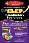 CLEP Introductory Sociology w/CD  - The Best Test Prep for the CLEP Exam