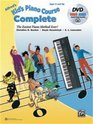 Alfred's Kid's Piano Course Complete The Easiest Piano Method Ever