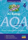 A2 Biology AQA  Unit 4 module 4 Energy Control and Continuity Unit Guide