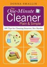 The One-Minute Cleaner 500 Tips for Cleaning Smarter Not Harder
