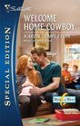 Welcome Home, Cowboy (Wed in the West, Bk 4) (Silhouette Special Edition, No 2054)