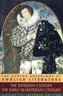 The Norton Anthology of English Literature, Vol. 1 B: The SixteenthCentury/The Early Seventeenth Century