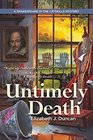 Untimely Death (Shakespeare in the Catskills, Bk 1)