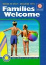 Families Welcome Where to Stay  England 1998