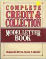Complete Credit and Collection Model Letter Book