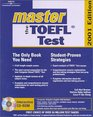 Master the Toefl Test 2001