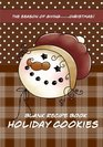 Blank Recipe Book Holiday Cookies Recipe Keeper for your Christmas cookie recipes