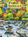 Forest Animals Coloring Book (Dover Coloring Book)