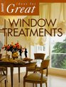 Ideas for Great Window Treatments