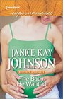 The Baby He Wanted (Brothers, Strangers) (Harlequin Superromance) (Larger Print)