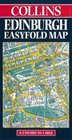 Collins Edinburgh Easyfold Map 42 Inches to 1 Mile