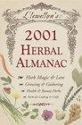 Llewellyn's 2001 Herbal Almanac