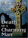 Death of a Charming Man (Hamish MacBeth, Bk 10) (Large Print)