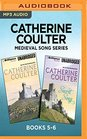 Catherine Coulter Medieval Song Series Books 5-6 Earth Song  Secret Song