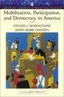 Mobilization Participation and Democracy in America