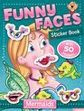 Funny Faces Sticker Book Mermaids