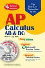 AP Calculus AB/BC w/CD-ROM  The Best Test Prep for AP Calculus AB ad BC with TESTware Best Test Prep for
