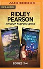 Ridley Pearson Kingdom Keepers Series Books 3-4 Disney in Shadow  Power Play
