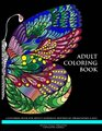 Adult Coloring Book: A Coloring Book for Adults Featuring Butterflies, Dragonflies & Bees (Adult Coloring Books) (Volume 1)