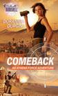 Comeback (Athena Force, Bk 17) (Silhouette Bombshell, No 102)