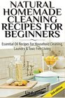 Natural Homemade Cleaning Recipes For Beginners Essential Oil Recipes For Household Cleaning Laundry  Toxic Free Living