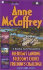 Anne McCaffrey Freedom Collection : Freedom's Landing, Freedom's Challenge, Freedom's Choice (Freedom Series)