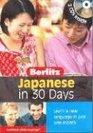 Japanese Berlitz in 30 Days