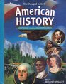 American History Beginnings Through Reconstruction