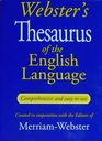 Webster's Thesaurus of the English Language