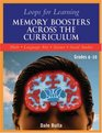 Loops for Learning: Memory Boosters Across the Curriculum