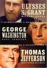 American Presidents Eminent Lives Boxed Set George Washington Thomas Jefferson Ulysses S Grant