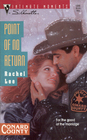 Point of No Return (Conard County, Bk 6) (Silhouette Intimate Moments, No 566)