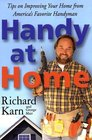 Handy at Home Tips on Improving Your Home from America's Favorite Handyman