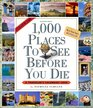 1000 Places to See Before You Die Picture-A-Day Calendar 2008