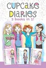 Cupcake Diaries 3 Books in 1 Katie and the Cupcake Cure Mia in the Mix Emma on Thin Icing