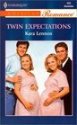 Twin Expectations (Harlequin American Romance, No 856)