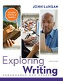 Exploring Writing Paragraphs and Essays MLA 2016 Update